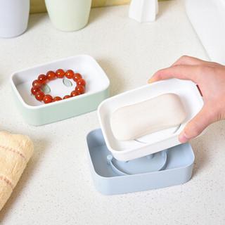 雅高 皂盒 沥水肥皂托 双层皂盘 台式皂架  香皂盒 肥皂盒子