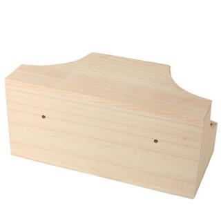 卡诺(carno)龙猫窝 木屋 跳板 魔王松鼠 扇形踏板 木制玩具 秋千 跳柱用品