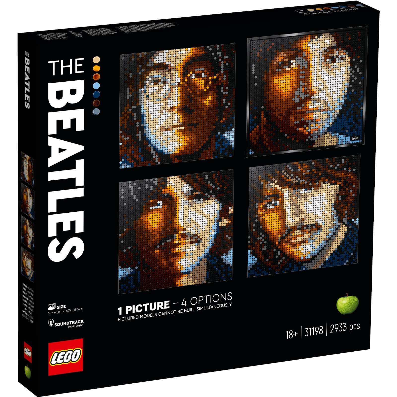 LEGO 乐高 Art艺术生活系列 31198 披头士乐队