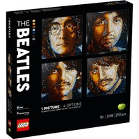 LEGO 乐高 马赛克艺术画 31198 披头士乐队