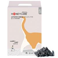 好命天生(Honeycare)豆腐猫砂 1.5mm活性炭豆腐猫砂2.6kg真空袋结团无尘猫砂 植物猫砂