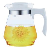 金熊 耐高温玻璃凉水壶 冷水壶可直火玻璃壶(1.5L)JT555-1