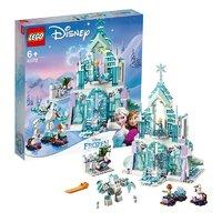 LEGO乐高迪士尼公主系列艾莎的魔法冰雪城堡43172小颗粒女孩积木