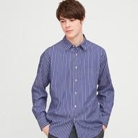 UNIQLO 优衣库 427289 男士长袖条纹衬衫