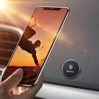 倍思(Baseus)车载手机支架磁吸式 中控仪表台汽车手机支架  苹果小米华为三星手机平板导航抖音通用 酷炫黑
