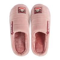大嘴猴Paul Frank 情侣居家棉拖鞋 简约舒适毛绒保暖棉拖鞋女款 粉红260码 PF-72607