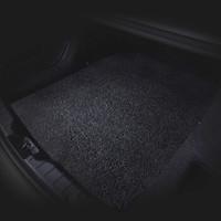 布雷什(BOLISH) 丝圈后备箱垫通用型可裁剪 家用大尺寸环保加厚耐磨丝圈门厅地垫 120CM*100CM 黑色