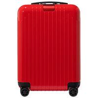 日默瓦(RIMOWA)聚碳酸酯拉杆登机箱 ESSENTIAL LITE系列 21寸亮红色 823.53.65.4