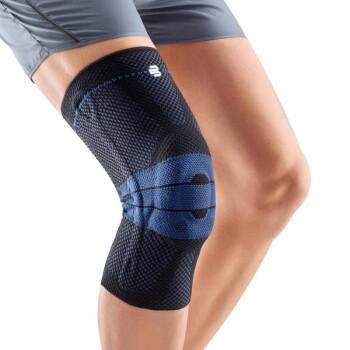 保而防(BAUERFEIND) 运动护膝篮球跑步羽毛球德国制造基础款轻薄透气半月板韧带损伤运动护具 黑色防滑款 5