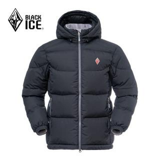 BLACK ICE 黑冰 天枢PLUS 700 男士运动羽绒服 F8509 黑色 M