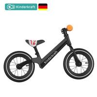 KinderKraft 可可樂園 BLITZ PLUS 可手推滑步車 黑色