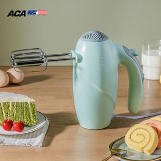 北美电器(ACA)打蛋器大功率电动家用迷你烘焙全自动手持搅拌器双搅拌棒打发器AHM-PH30B