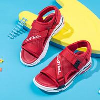 骆驼 CAMEL童鞋 儿童凉鞋网布鞋子凉鞋 A9280301473 红色 32