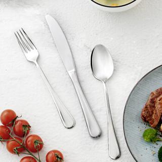 J.ZAO 京东京造 不锈钢餐具套装 不锈钢刀叉勺 三件套