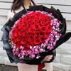 爱侣鲜花速递33朵红玫瑰花束礼盒生日表白鲜花全国同城北京上海广州深圳送花店