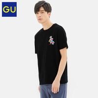 GU极优男装印花T恤(短袖)DORAEMON哆啦A梦2020夏季新款纯棉322132