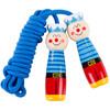 福孩儿 木质儿童跳绳 幼儿园小学生4-6-8-12岁男孩女孩小孩子一二年级可调节木头手柄跳绳