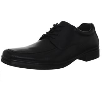 Hush Puppies 暇步士 Quatro BK 男款真皮休闲鞋 Black US9.5