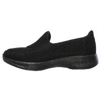 SKECHERS 斯凯奇 Go Walk 4 女士休闲健步鞋 BLACK US 7