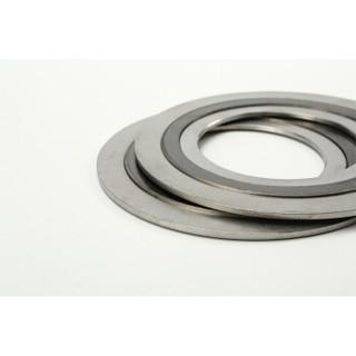 JF/捷丰304石墨金属缠绕垫片 带内外环 耐高温高压法兰垫HG/T20610-2009 2222 D125-100  可定制