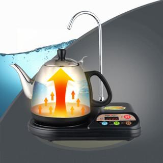 金灶(KAMJOVE)电水壶自动上水器整套茶具电茶壶 304不锈钢热水壶T-22A