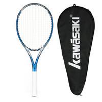 川崎Kawasaki网球拍 全碳素大拍面 Craze 460 蓝色(已穿线)