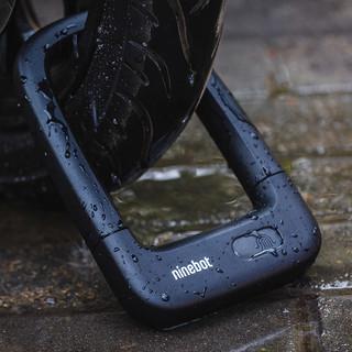 Ninebot九号智能指纹U形锁 滑板车电动车车锁