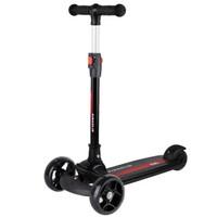 鑫奥林(XINAOLIN)儿童滑板车1-2-3-6岁可折叠小孩宝宝摇摆滑步车三轮踏板车平衡车 089黑色