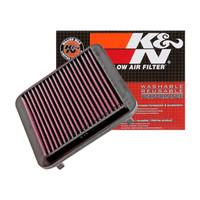 K&N美国高流量可清洗重复使用空气滤清器适用于炫丽 33-2186