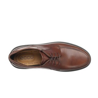 ecco 爱步 Boston Lace-Up 男士系带皮鞋 Mink EU40