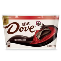 Dove 德芙 香浓黑巧克力 252g *2件 +凑单品