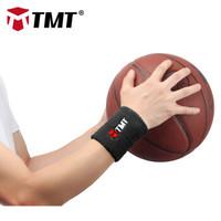 TMT 运动护腕 男女健身训练 黑色 (单只装)
