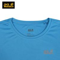 Jack Wolfskin 狼爪 5008881 女士户外纯色透气短袖T恤