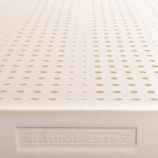 TAIPATEX 泰国原装进口天然乳胶床垫家庭套组双人床1.5米床垫7.5CM*150CM*200CM