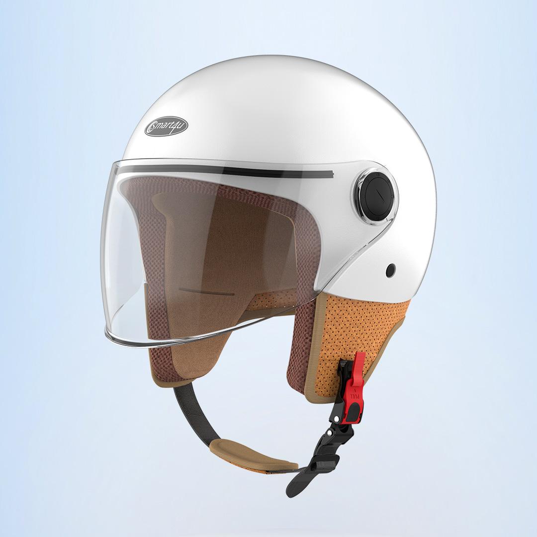 Smart4u骑士复古头盔