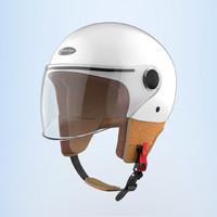 轻体验 篇三十七:复古时尚,安全保障——Smart4u骑士复古头盔体验
