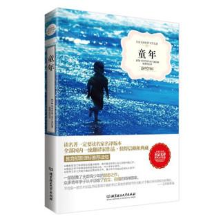 名家名译世界文学名著:老人与海+名人传+童年+了不起的盖茨比+父与子+钢铁是怎样炼成的(套装共6册)