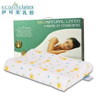 伊可莱ecolifelatex泰国乳胶枕头 儿童枕 PS(3-8岁)