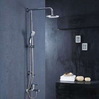 科勒KOHLER花洒套装 淋浴花洒喷头三出水淋浴柱沐浴莲蓬头K-R75517T-4-CP齐乐三出水淋浴柱