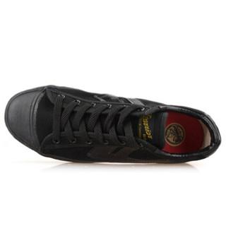 回力休闲情侣男女款潮款篮球运动帆布鞋wb-1 黑色 34