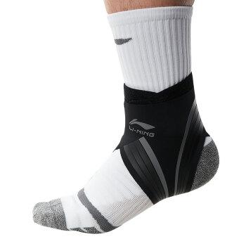 李宁 护踝男女扭伤防护护脚裸护具装备羽毛球篮球训练跑步运动医用康复 *8件