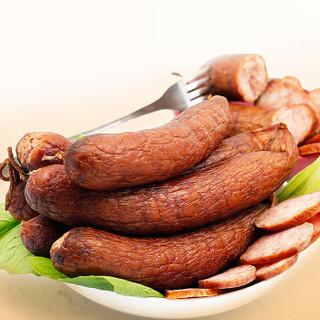 秋林里道斯 哈尔滨红肠110g*5支+儿童肠80g*5支 东北特产开袋即食香肠 休闲零食大礼包