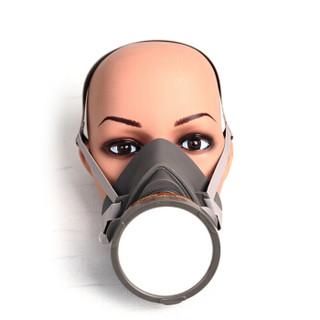 3M 3200四件套(主体+滤棉+滤盒+承接盖) 防毒口罩面具 化工喷漆防尘农药防毒气面罩