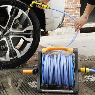 车旅伴 Car Buddy 水管收纳架套装 (水管架*1 铜质通水接*2 水管*2米) 汽车用品 HQ-QX091