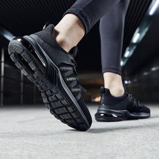 乔丹 男鞋轻便休闲鞋气垫减震跑步鞋 XM2590205 黑色 42