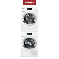 美诺(MIELE) 欧洲原装进口 全触屏面板 变频9kg洗衣机 9kg热泵烘干机 洗烘套装 WCR890 C TCR870 WP C