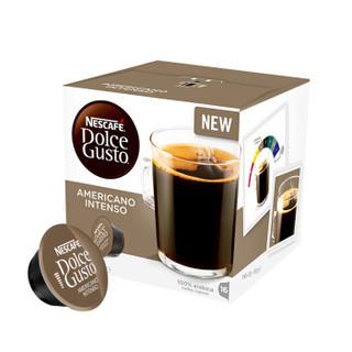 Nestlé 雀巢 多趣酷思 美式醇香浓烈胶囊咖啡 10g*16颗