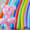 佳茉 魔术气球 长条造型气球魔法气球儿童节创意长条玩具气球 婚庆节庆春节装饰 彩色100只赠打气筒