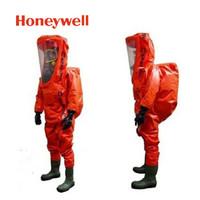 霍尼韦尔(Honeywell)EasyChem内置式重型防化服 气密型 1400021-M-42 防护服 1套 企业定制