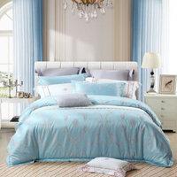 水星家纺(MERCURY) 欧式大提花床品四件套被套床单床上用品 尼斯梦境 双人1.5米床